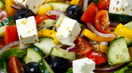 Ambrosia Foods, Inc - Makers of the finest Olive Oil this side of the Mediterranean - (424) 353-1932 - Greek salad with feta cheese