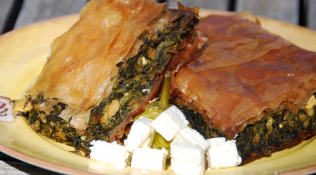 Ambrosia Foods, Inc - Makers of the finest Olive Oil this side of the Mediterranean - (424) 353-1932 - Spinach pie