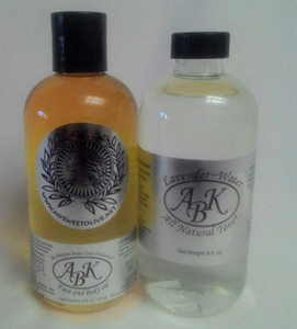 Beauty Products - Face and Body Oil - Lavender Water All Natural Toner