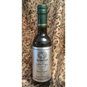 Extra Virgin Olive Oil - Lemon Oregano Infused - 375ml, 12.68 fl oz
